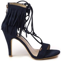 Shoes Women Heels Big Star U274151 Navy blue