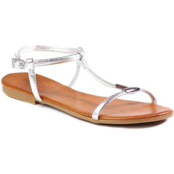 Shoes Women Sandals Venezia M345D Pel Arg Silver