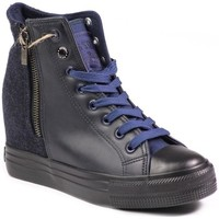 Shoes Women Hi top trainers Big Star V274931 Navy blue