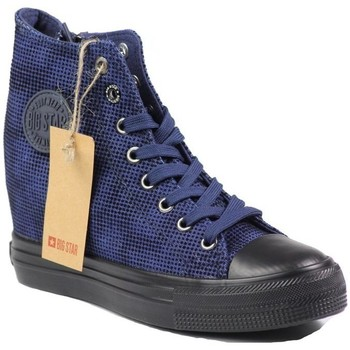 Shoes Women Hi top trainers Big Star V274937 Navy blue