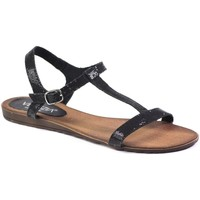 Shoes Women Sandals Venezia 1769 Tes Nero Black