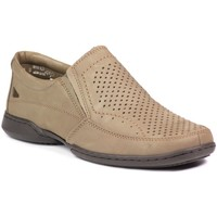 Shoes Men Slip ons Rieker 07957 64 Beige