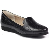 Shoes Women Loafers Ryłko Mokasyn Black