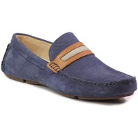 Shoes Men Loafers Badura 3083 383 Navy blue