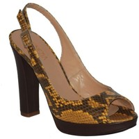 Shoes Women Sandals Venezia 50086 Ocrbro Brown