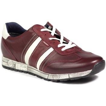 Shoes Men Low top trainers Badura 2952 810 Burgundy