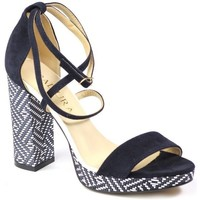 Shoes Women Sandals Badura 408269 378 Navy blue