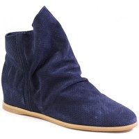 Shoes Women Mid boots Venezia S150M Cam Blu Navy blue