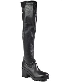 Shoes Women High boots Venezia 8394 Sha Nero Black