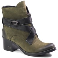 Shoes Women Ankle boots Carinii B4053 Green