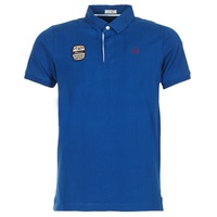 Clothing Men Short-sleeved polo shirts Serge Blanco DOSSART 15 Blue