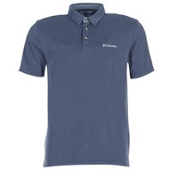 Clothing Men short-sleeved polo shirts Columbia NELSON POINT POLO Marine