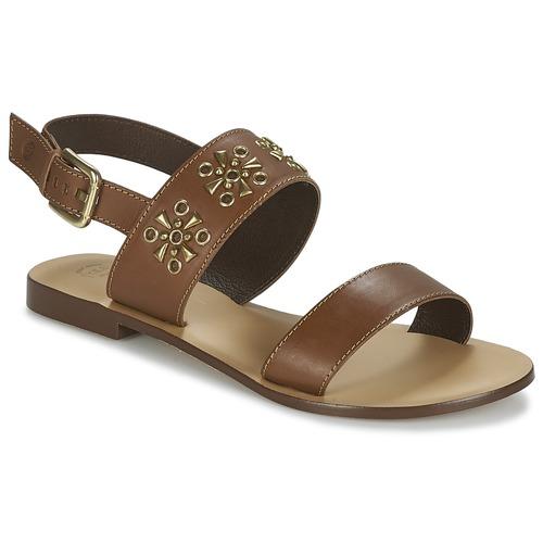 Shoes Women Sandals Betty London IKIMI Brown