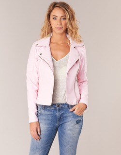 Clothing Women Leather jackets / Imitation leather Noisy May NMREBEL Pink