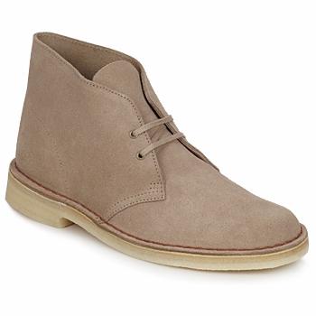 Shoes Men Mid boots Clarks DESERT BOOT Sable