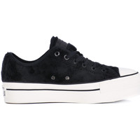 Shoes Women Low top trainers Converse ALL STAR PLATFORM OX Nero