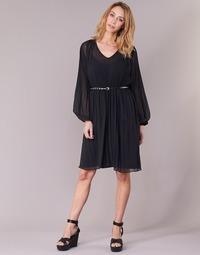 Clothing Women Short Dresses Pepe jeans WINONA Black
