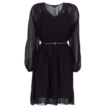 Clothing Women Short Dresses Pepe jeans WINONA Black