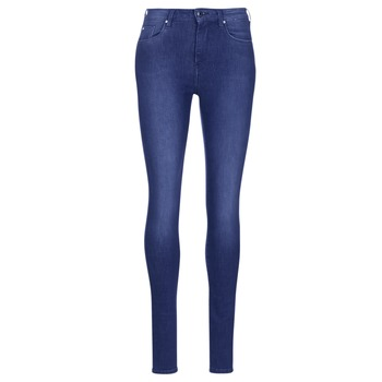 Clothing Women Skinny jeans Pepe jeans REGENT Blue / Ce2 / Christals / Swarorsky