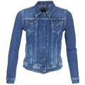 Clothing Women Denim jackets Pepe jeans