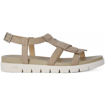 Shoes Women Sandals Nero Giardini NERO GIARDINI  SANDALO NEPAL Beige