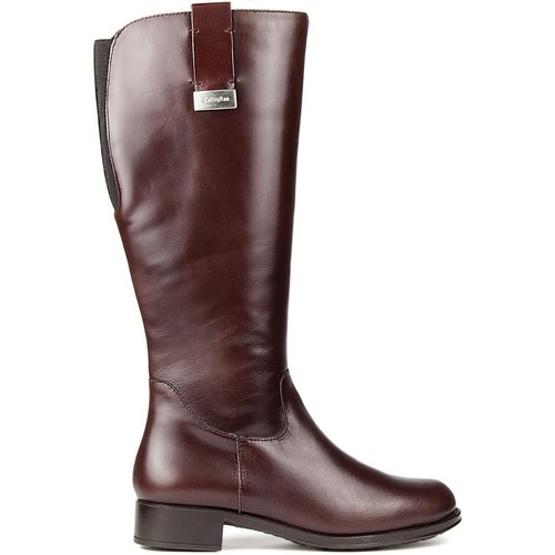 Shoes Women Boots CallagHan Boots  BOND RIDE CHOCOLATE
