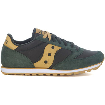 Shoes Men Low top trainers Saucony Jazz Low Pro green and ochre sneaker Green