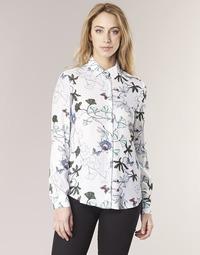 Clothing Women Shirts Tommy Hilfiger MIRAN-SHIRT-LS White