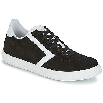 Shoes Men Low top trainers Yurban RETIPUS Black