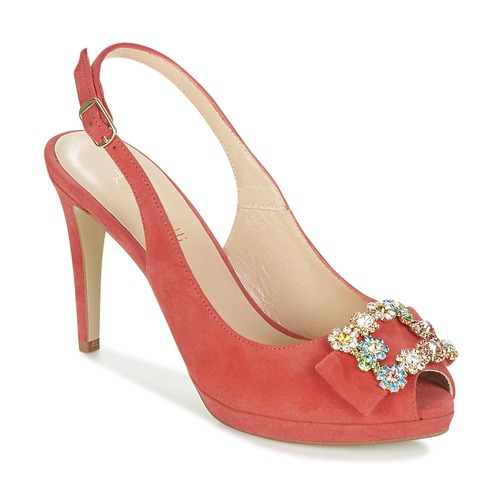 Shoes Women Sandals Fericelli INEWO Red