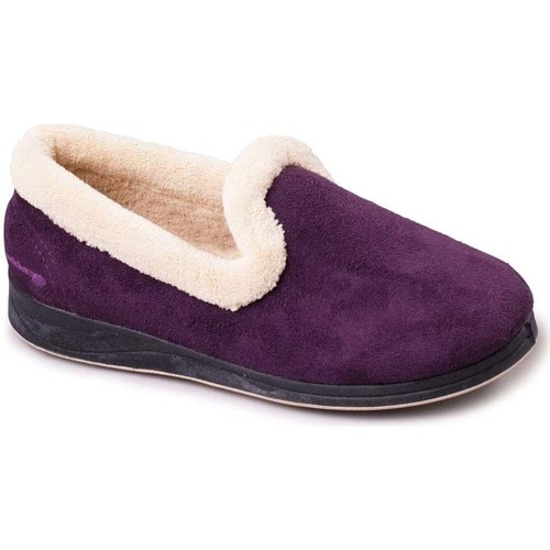 Shoes Women Slippers Padders Repose Womens Fully Lined Slippers purple