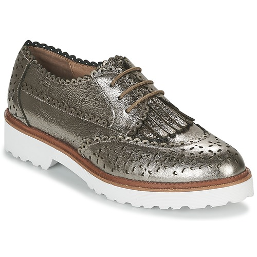 Shoes Women Derby Shoes Mam'Zelle ROSEAU Silver