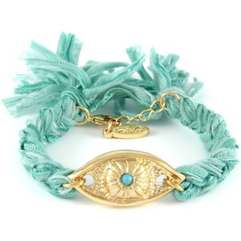 Watches Women Bracelets Blue Pearls ETK 0115 Turquoise