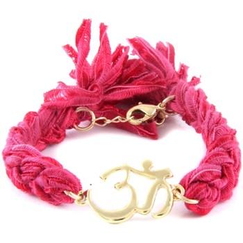 Watches Women Bracelets Blue Pearls ETK 0117 Om Pink