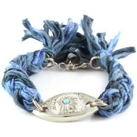 Watches Women Bracelets Blue Pearls ETK 0161 Multicolored