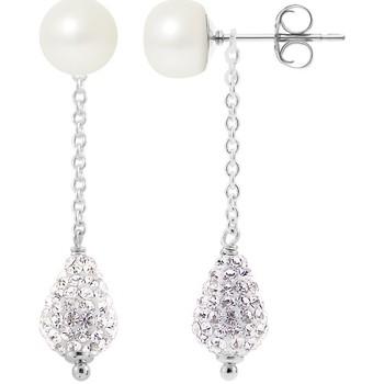 Watches Women Earrings Blue Pearls BPS K366 W Multicolored