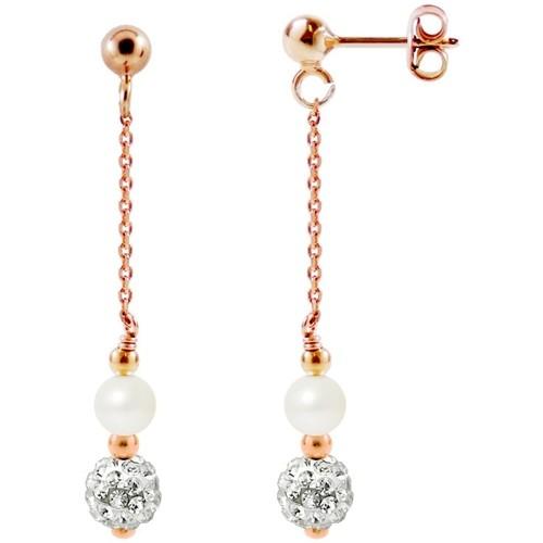 Watches & Jewellery  Women Earrings Blue Pearls BPS K368 W Multicolored