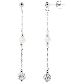 Watches & Jewellery  Women Earrings Blue Pearls BPS K367 W Multicolored