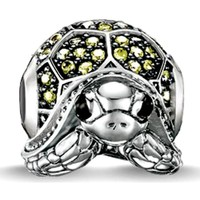 Watches Women Jewellery Blue Pearls Green Crystal Turtle Charms Bead Multicolored