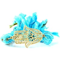Watches Women Bracelets Blue Pearls ETK 0130 Blue