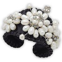Watches & Jewellery  Women Bracelets Blue Pearls NUB 3121 E Multicolored
