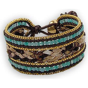 Watches & Jewellery  Women Bracelets Blue Pearls NUB 3127 E Other