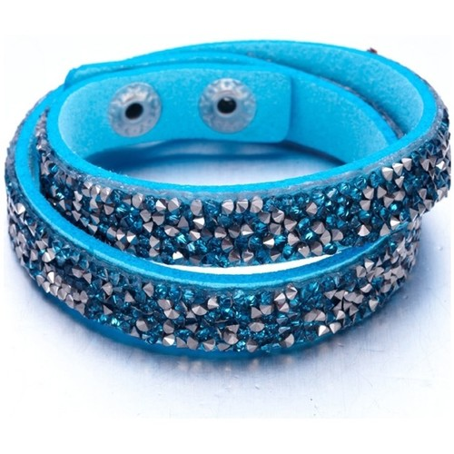 Watches Women Bracelets Blue Pearls CRY G160 F Multicolored