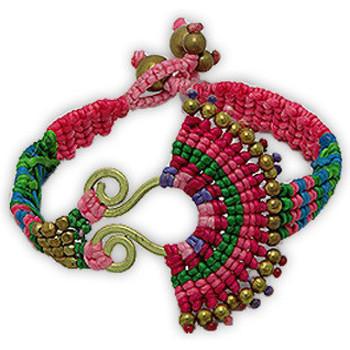 Watches & Jewellery  Women Bracelets Blue Pearls NUB 3137 E Multicolored