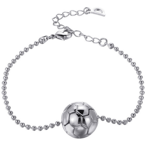 Watches Women Bracelets Blue Pearls White gold plated Football Mixte Bracelet Multicolored
