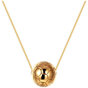 Watches Women Necklaces Blue Pearls Yellow Gold Plated Football Necklace Other