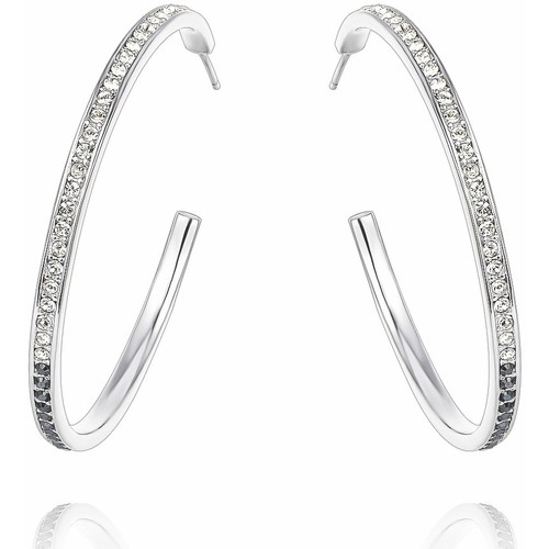 Watches Women Earrings Blue Pearls CRY B358 W Black