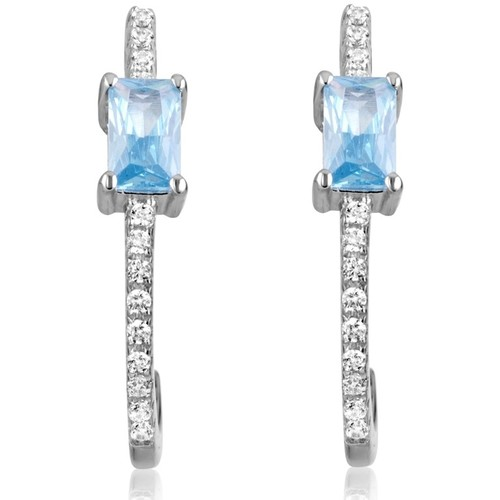 Watches Women Earrings Blue Pearls CRY J341 X Multicolored