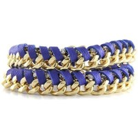 Watches Women Bracelets Blue Pearls ETK 0205 Multicolored