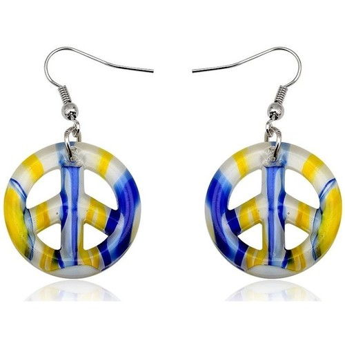 Watches & Jewellery  Women Earrings Blue Pearls CRY 8331 T Multicolored